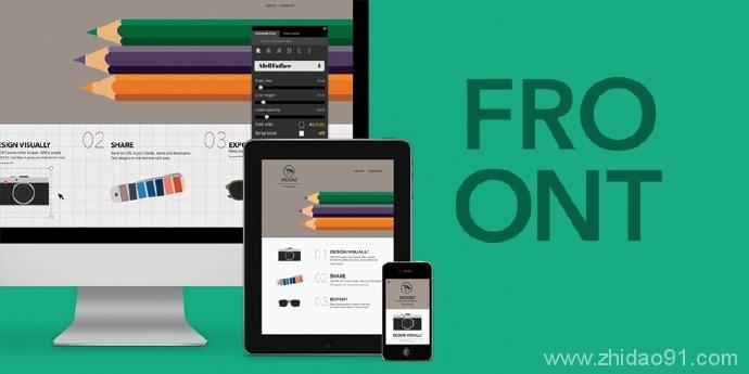 Froont加速网站原型设计和响应式布局在线平台