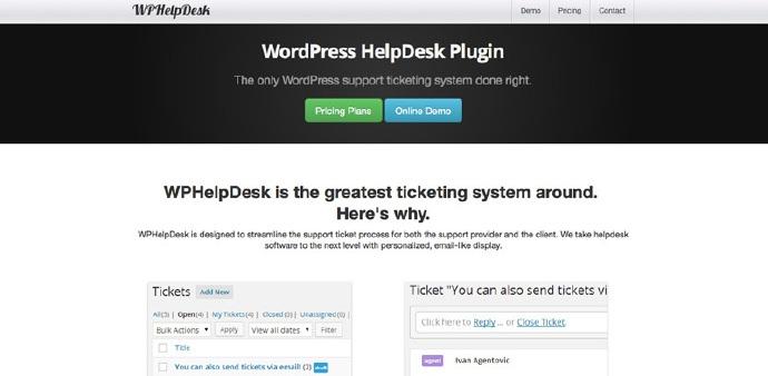 WPHelpDesk Wordpress插件