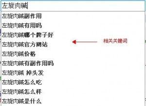 如何选择关键字 网站seo 图片实例4