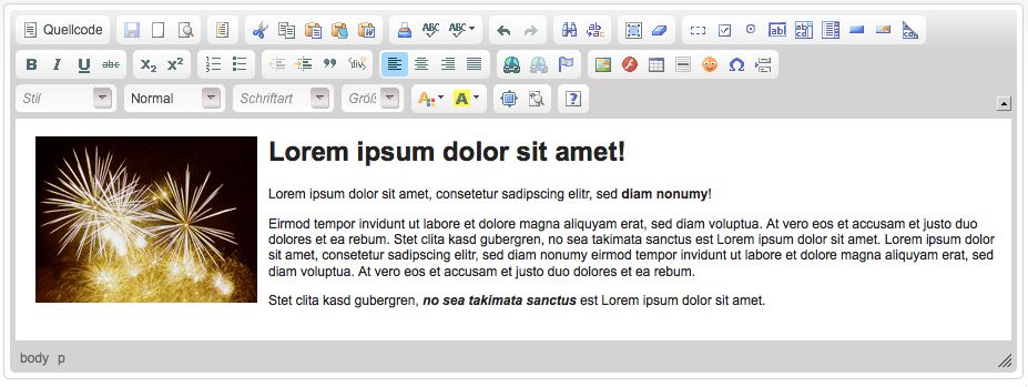 CKEditor 集成示例、文件上传、在线编辑器