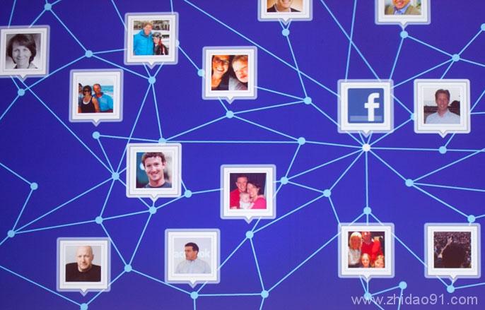 通过Facebook 分享,病毒式传播